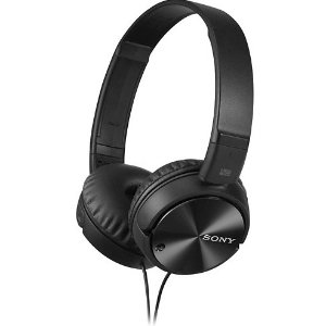Sony MDRZX110NC Noise-Canceling Wired On-Ear Headphones
