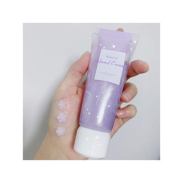 PEAKCO 紫苏嫩滑保湿清爽超吸收护手霜 细闪小花 30ml+30ml 仙女必入 - 亚米网