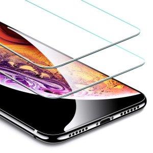$3.00ESR 钢化玻璃iPhone X/Xs 屏幕保护膜 2个装