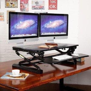 $189.99(原价$219.99)桌面升降小桌 站着身体更舒服 缓解腰背疲劳 工作更高效