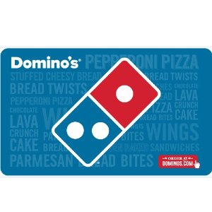 Domino's $50 电子礼卡限时优惠