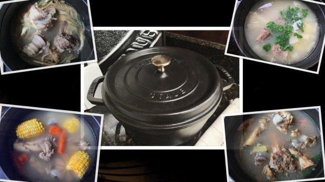 Staub铸铁锅   买来不闲置 ...