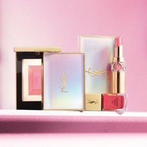 New Arrival YSL Luminous Face Palette&La Laque Couture Nail Polish @ Barneys New York