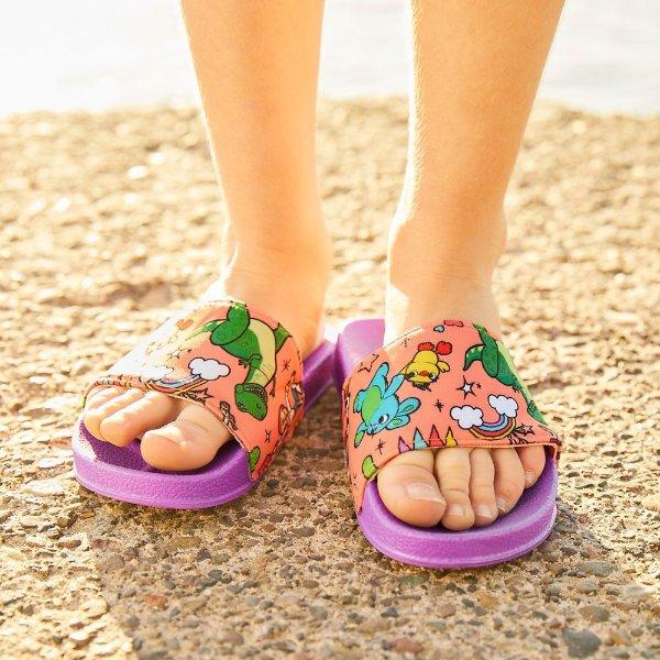 Toy Story 4 图案儿童拖鞋