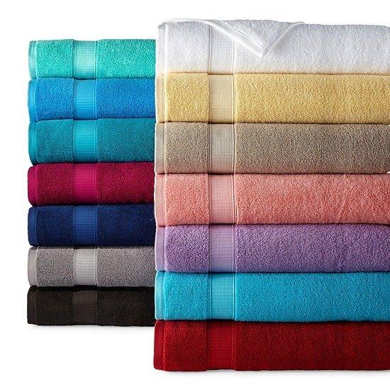 100%纯棉纯色毛巾