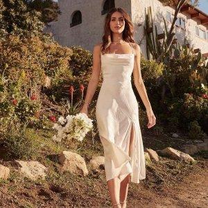 低至2折+部分额外7.5折  海量美裙$8起Nordstrom Rack 美裙专场,泡泡袖、鱼尾裙、蕾丝款都有
