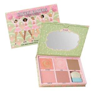 Benefit直接5折!明星色全涵盖!粉色系5色彩妆盘+含刷子