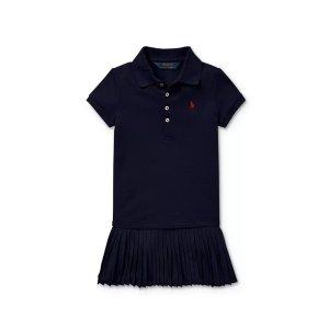 低至3.6折+额外8折Bloomingdales 女童连衣裙价格直降 封面RL2.8折收