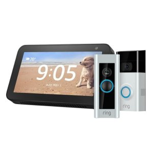 As low as $159.99Free Amazon Echo Show 5 with Ring video doorbell