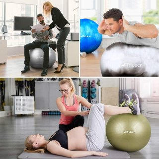 Trideer Exercise Ball (Multiple Color)