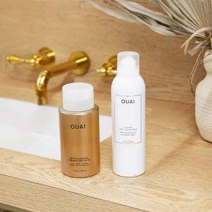 OUAI干性洗发水+排毒洗发水