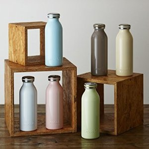 $15.77mosh! Stainless Slim Bottle 450ml @Amazon Japan