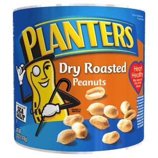BOGO FreePlanters Dry Roasted Peanuts, 52 oz.