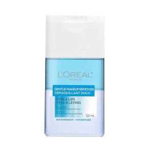 $7.57(原价$8.97) 敏感肌适用L'Oreal 欧莱雅眼唇卸妆液特卖 温和不刺激