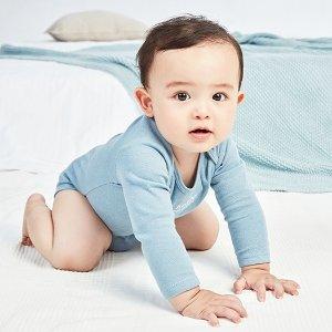 包邮 $11四件 有机棉$9+三件黑五价:Carter's官网 婴儿包臀衫套装3.9折-5折热卖