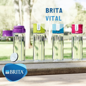 四色可选 折后€12.99Brita 便携滤水杯 天然活性炭 随时随地喝到纯净水质