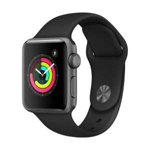 $259 Apple Watch Series 3 GPS (38mm) + extra band