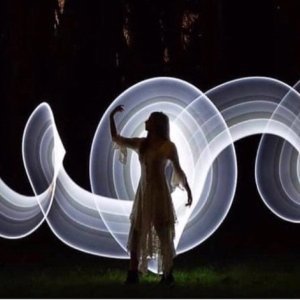 记录光的轨迹创意摄影:光涂鸦拍照教程