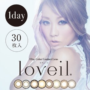 30.88loveil Daily Disposal 1Day Disposable Colored Contact Lens 30 pcs @LOOOK