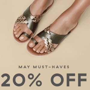 20% OffTop Spring Styles @ FitFlop