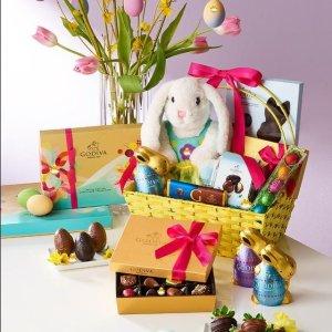 低至4折 $5收Lindt迷你兔子Lindt、Godiva 巧克力热卖 礼盒清仓 4.49收小鸡牛奶巧克力