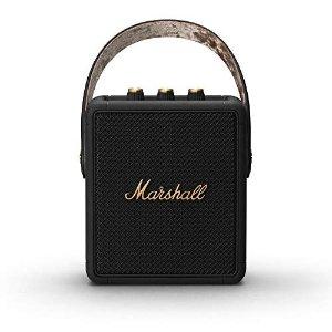 Marshall尹正同款!史低!Stockwell II 便携音箱 黑色金属色