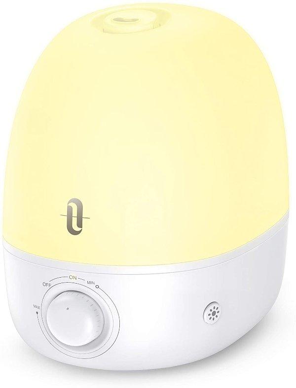 超声波冷雾精油香薰加湿器 2.5升 超静音带夜灯