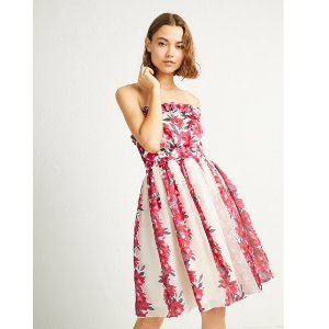French ConnectionEdith Vintage Strapless Dress