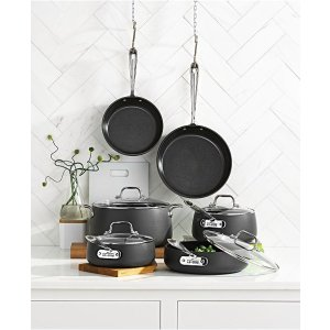 All-CladHard-Anodized 10-Piece Cookware Set