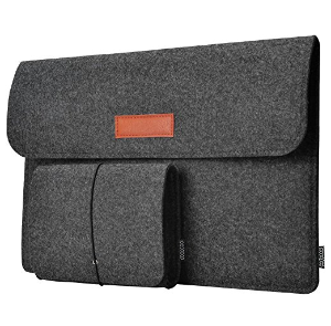 $7.99dodocool Laptop Sleeve 13.3-Inch with Mouse Pouch for Apple MacBook Pro, MacBook Air, MacBook Pro with Retina display and Other 13-13.3 Inch Laptop