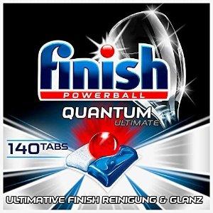 finishQuantum Ultimate 洗碗仙丹 140颗
