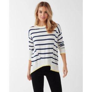 SplendidAvery Stripe Asymm Pullover