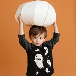 低至4.5折+部分额外5折Gap 宝宝万圣节主题装扮 就是要做最怪的小孩 睡衣$8.99