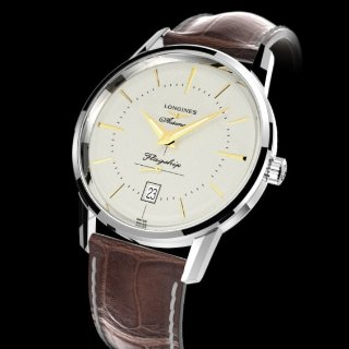 Extra $50 OffDealmoon Exclusive: LONGINES Heritage Flagship Automatic Men's Watch L47954782