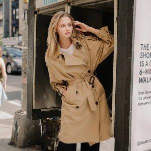 额外9折 收春季百搭经典风衣W Concept 全场男女外套热卖