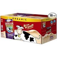 Horizon Organic 有机低脂牛奶 香草口味 18盒