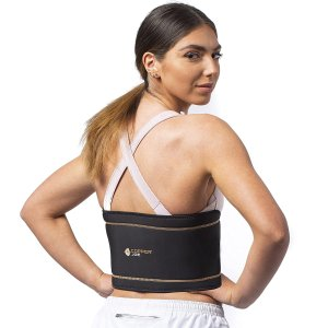 Copper Joe Back Support Brace – Ultimate Copper Infused Back Braces for Lower Back Pain Relief. Lumbar Waist Support Wrap – Made for Men and Women (Small/Medium)
