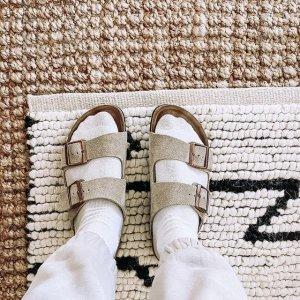 低至5.1折!€23就收夹脚凉拖Birkenstock 德国国民拖鞋 丑萌可爱 凉鞋配袜 谁都不怕