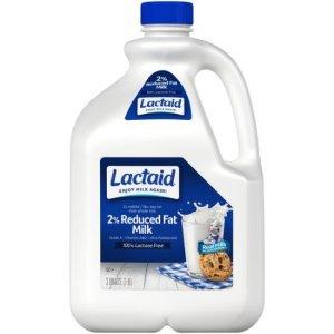Lactaid 100% Lactose Free 2% Reduced Fat Milk, 96 oz - Walmart.com