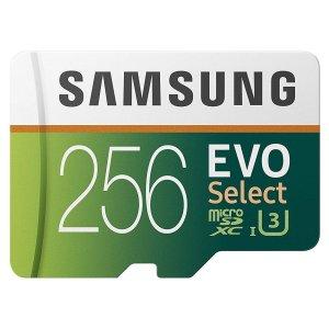 Samsung EVO Select 256GB 100MB/s (U3) MicroSDXC