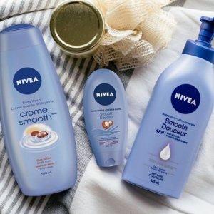 7.5折 低至$4.5起Nivea 妮维雅护肤品特卖 收经典蓝罐平价海蓝之谜