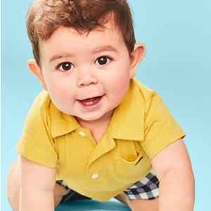 两件套$5.59 三件套$6.39折扣升级:Carter's官网 婴儿套装低至2.1折,数百款选 快抢码