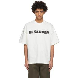 Jil Sanderlogo T恤