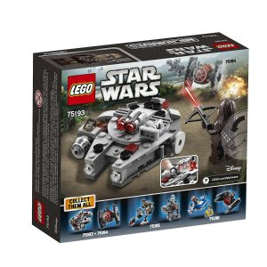 $8LEGO Star Wars Millennium Falcon Microfighter 75193 Building Kit (92 Piece)