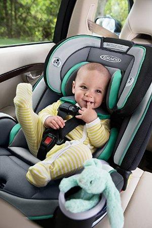 $215.64(原价$299.99)Graco 4ever 4合1可调节婴幼儿车用安全座椅 玫粉色