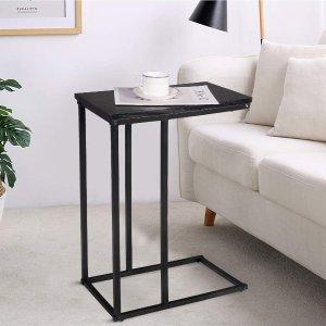 拒绝低头工作 低至€25.99Woltu 沙发边桌好价 简洁工业风 小巧实用又灵活
