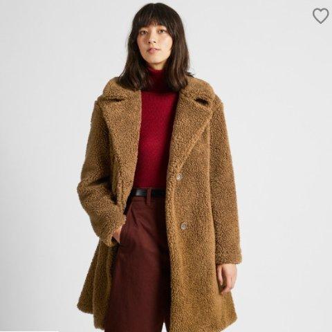 新款上市满£60减£10 £19.9收泰迪熊外套Uniqlo 新品摇粒绒上市 毛绒绒、软乎乎 泰迪熊风格让你温暖过秋冬