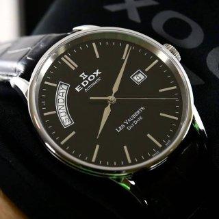 $319 (原价$1575)Edox  Les Vauberts 系列机械时装男表