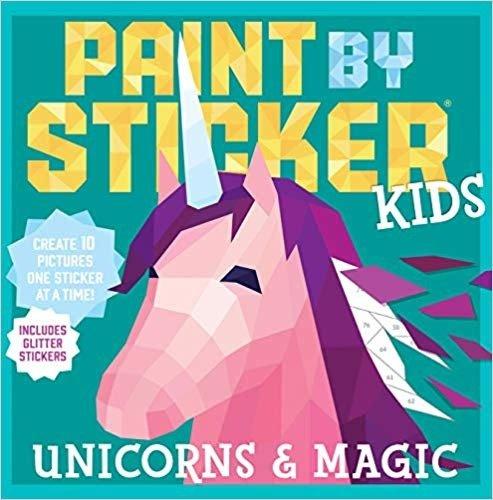 Unicorns & Magic 贴纸书