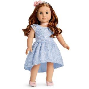 American GirlBlaire's 伴娘服,适合18英寸娃娃(不含娃娃)